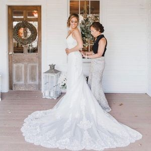 Martiana Liana Ivory Wedding dress